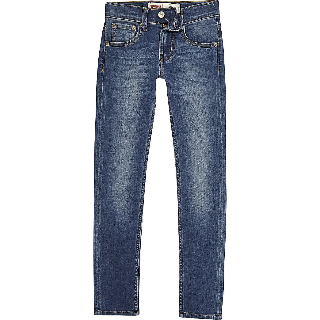 Levi's – Blaue Skinny Fit Jeans