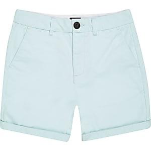 Hellgrüne Chino-Shorts für Jungen