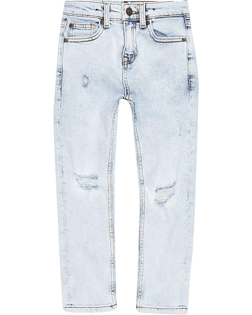 Boys light regular slim fit jeans