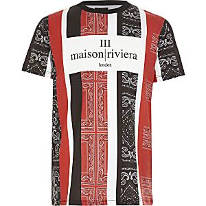 T-shirt imprimé bandana de Maison Riviera pour Garçon