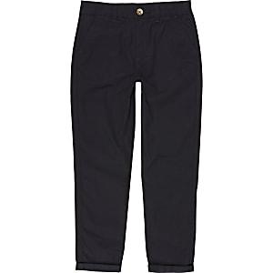 Pantalon chino bleu marine pour garçon