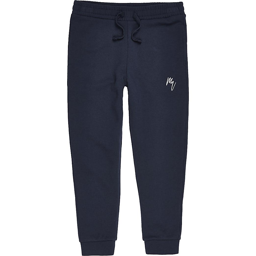 MaisonRiviera- Marineblauwe joggingbroek voor jongens
