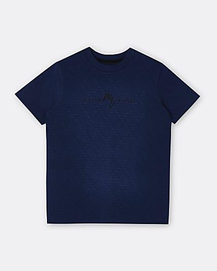 Boys navy Maison Riviera t-shirt