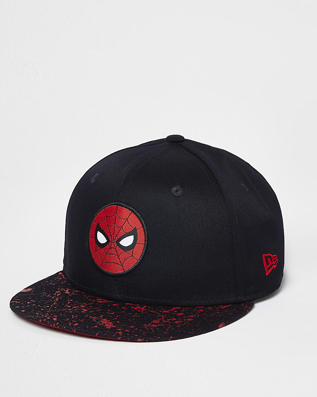 Boys navy New Era Spiderman cap