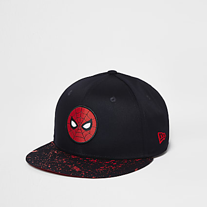 Boys navy New Era Spiderman cap