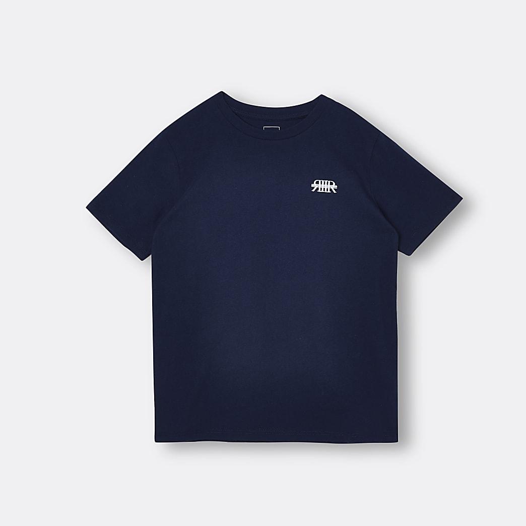 Boys navy RIR t-shirt