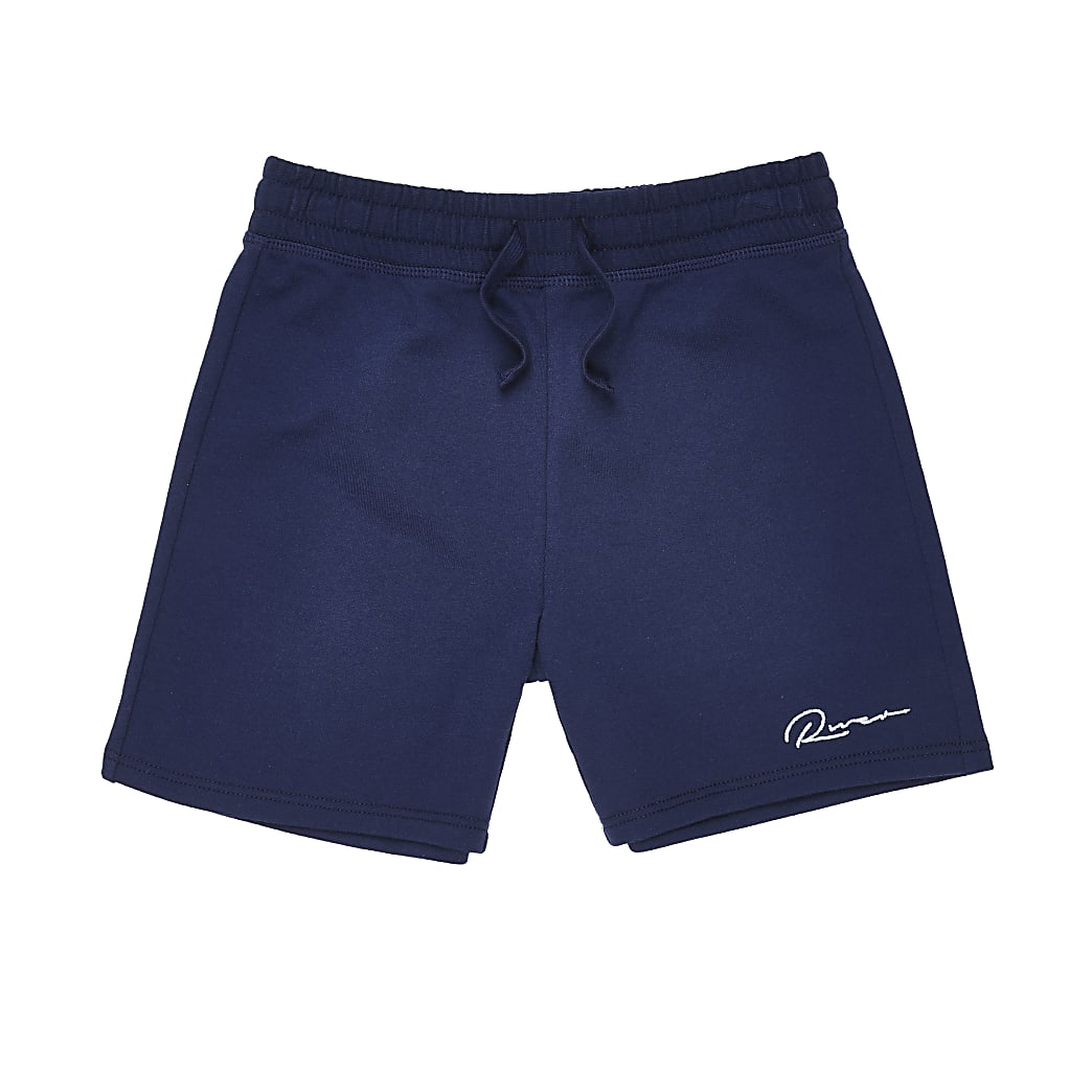 Boys navy River shorts