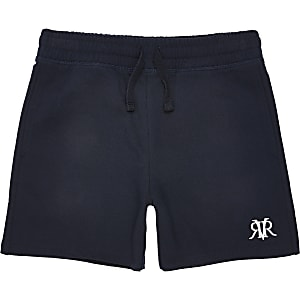 Marineblauwe RVR shorts voor jongens