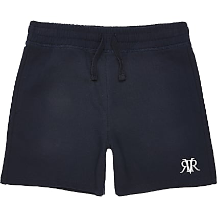 Boys navy RVR shorts