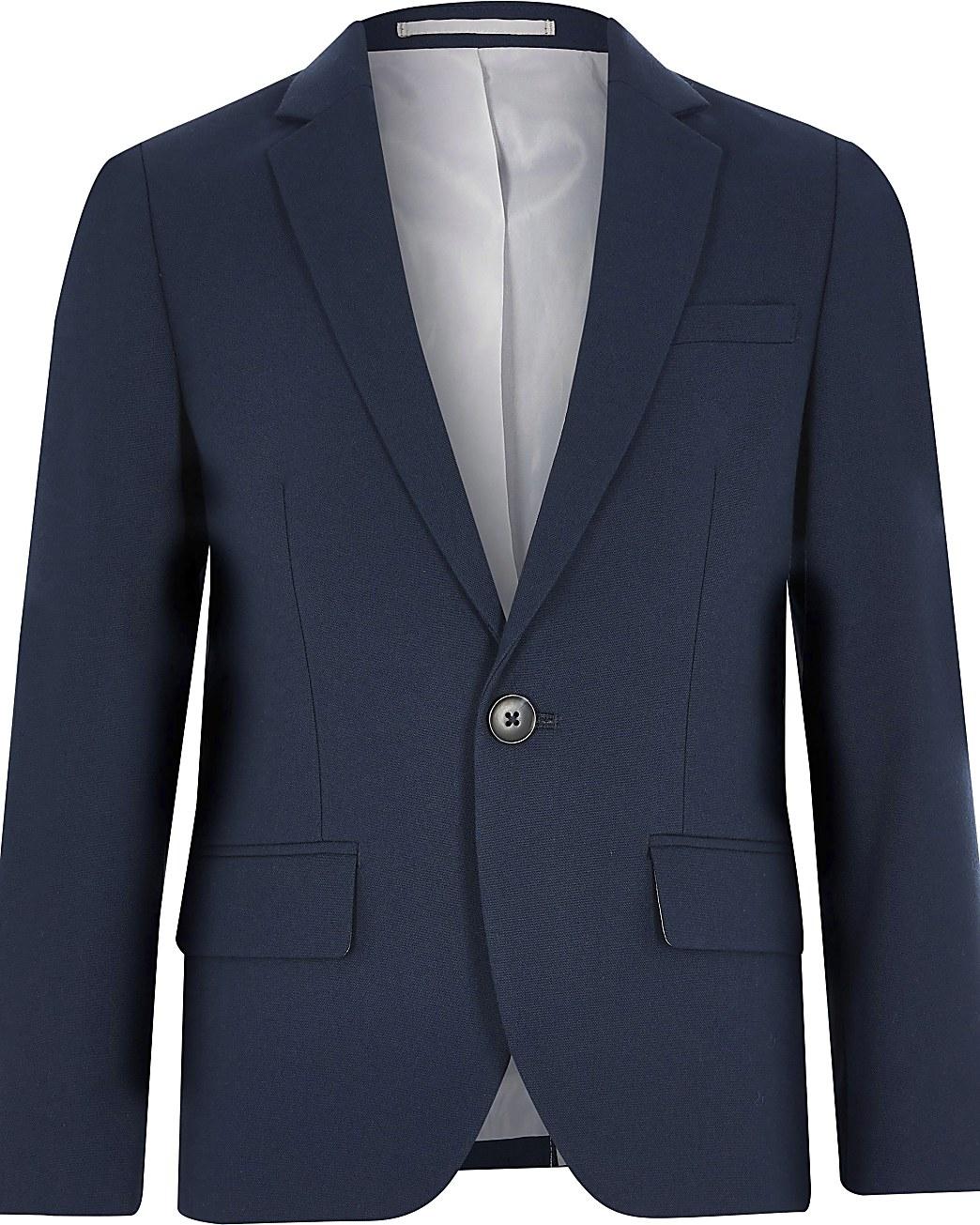Boys navy suit blazer