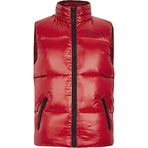 Prolific - Rode gewatteerde bodywarmer voor jongens