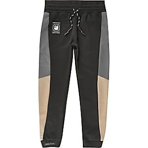 RI Active – Pantalon de jogging colour block noir pour garçon