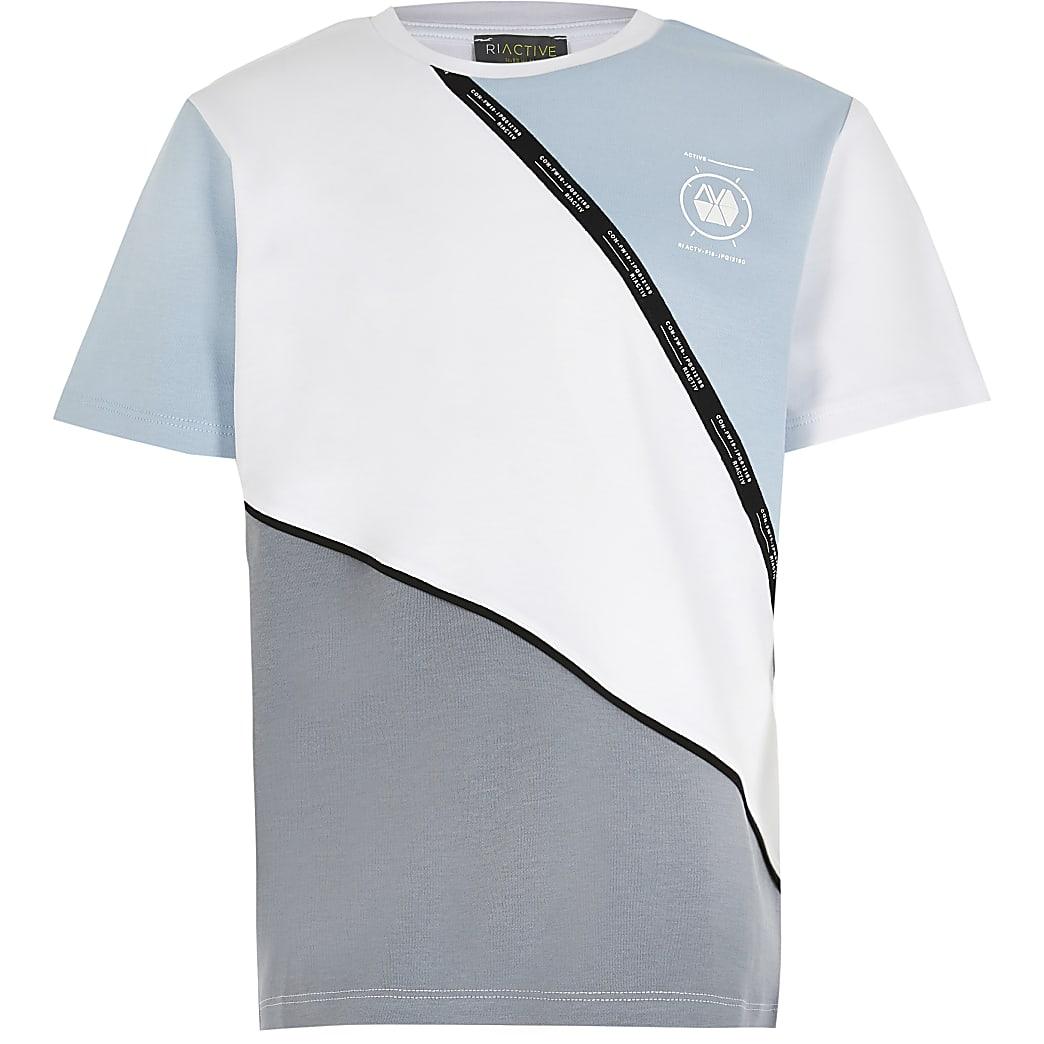 Boys RI Active colour blocked t-shirt