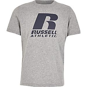 Russell Athletic - Grijs T-shirt voor jongens