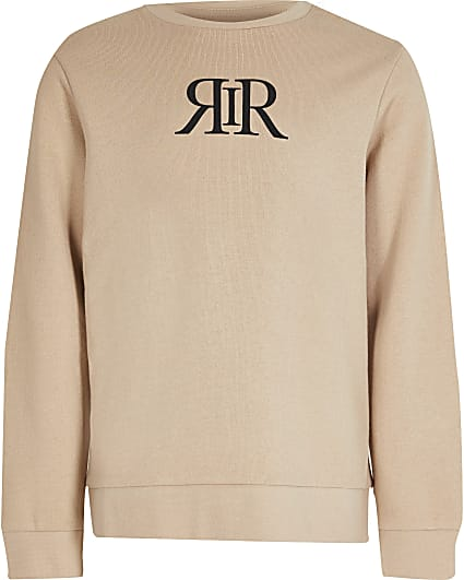 Boys stone RIR sweatshirt