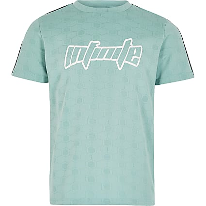 Boys Turquoise OB Active Mint Tee
