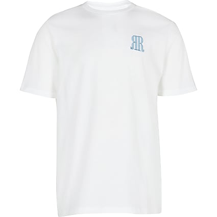 Boys white RR t-shirt