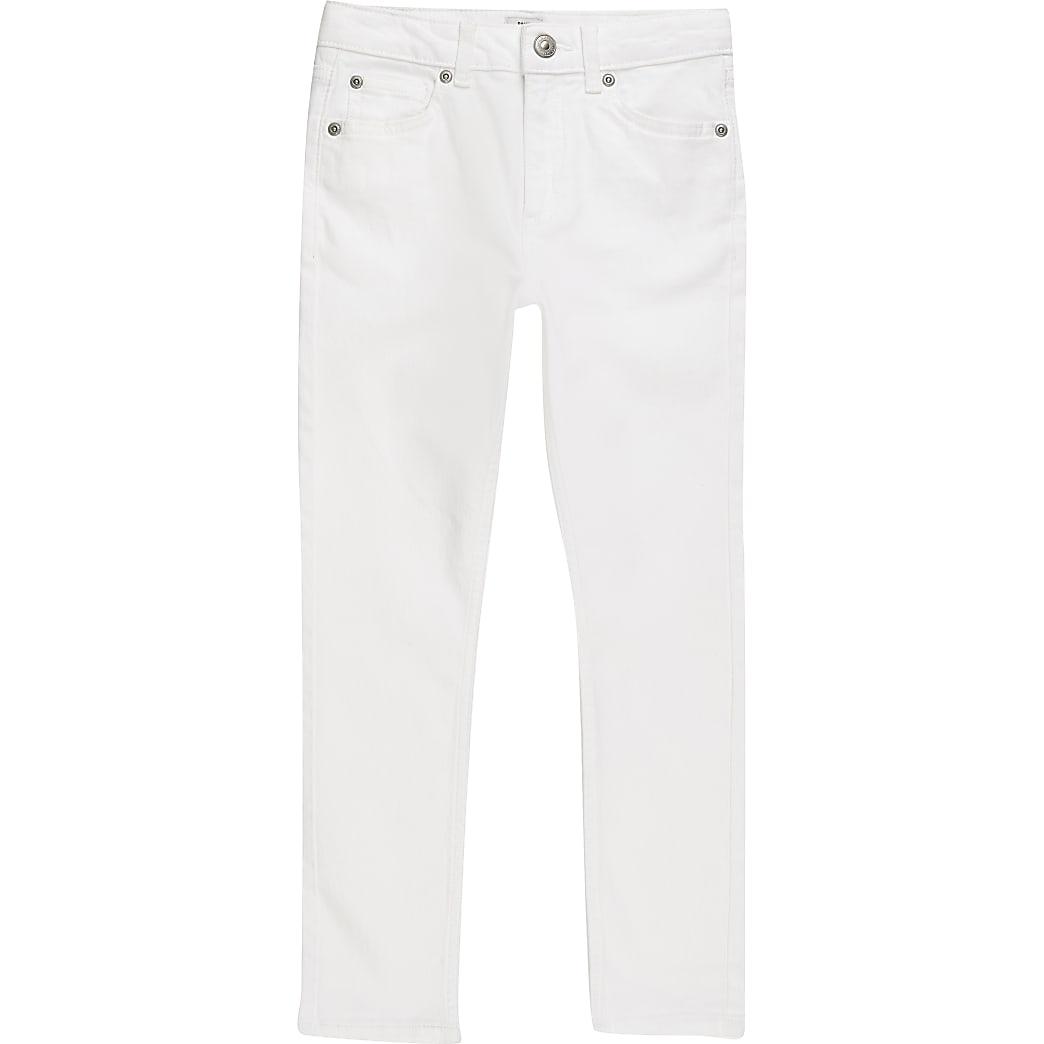 Boys white skinny jeans