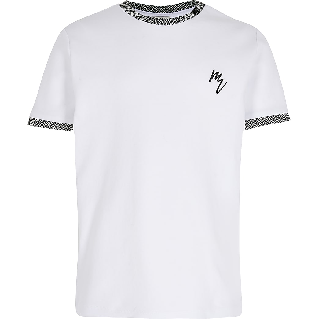 Boys white t-shirt