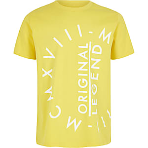 Boys yellow MCMXVIII T-shirt