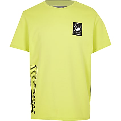 Boys yellow RI Active t-shirt