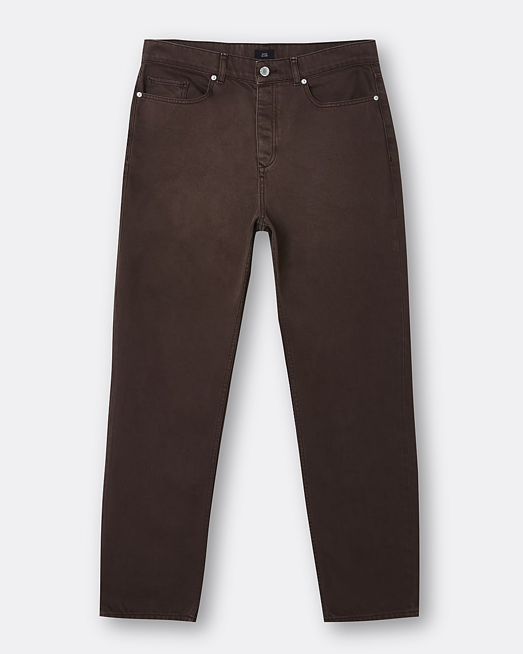 Brown baggy fit jeans