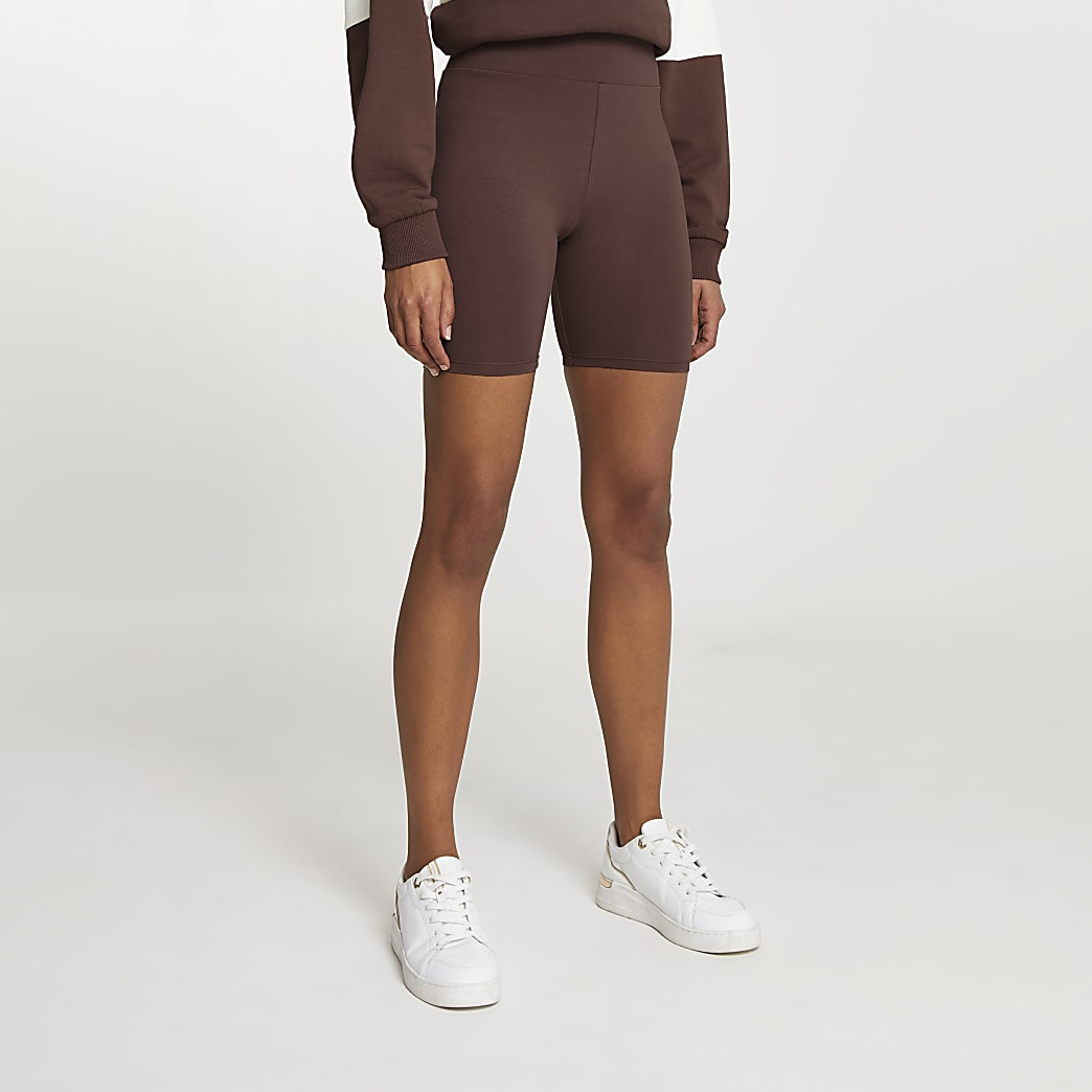 Brown cycling shorts
