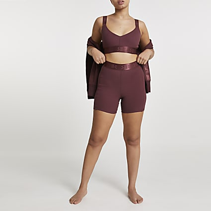 Brown Intimates cycling short