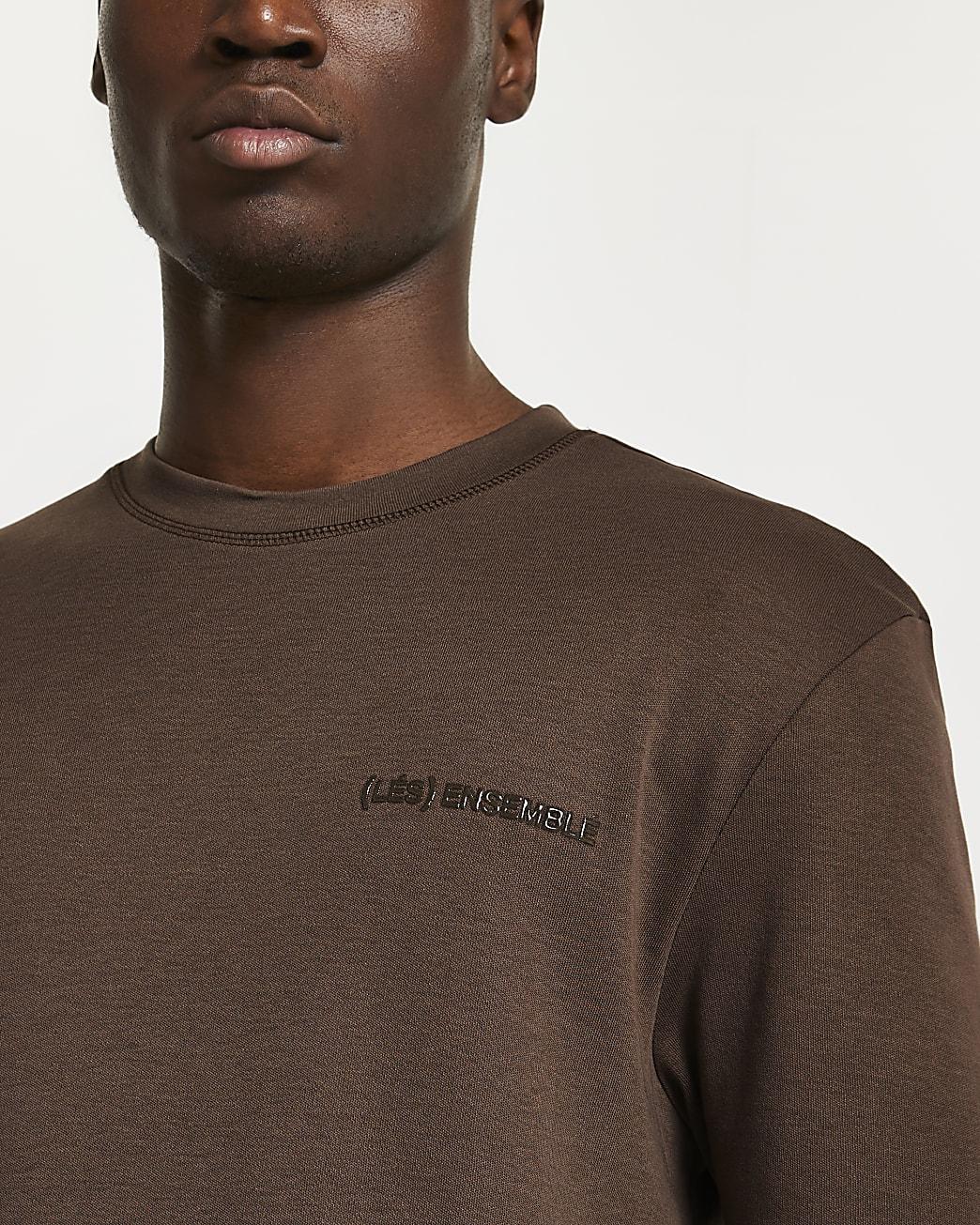 Brown 'Les Ensembles' t-shirt