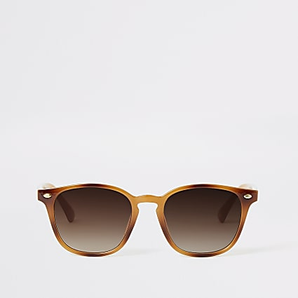 Brown Marmalade Tort Sunglasses
