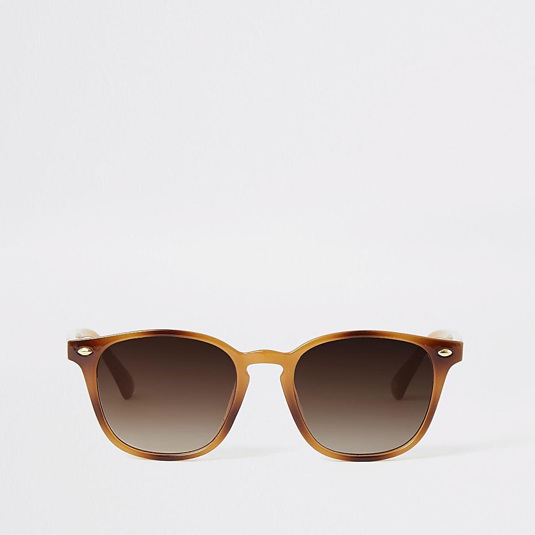 Brown Marmalade Tort Sunglasses