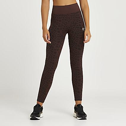 Brown RI Active seamless leggings