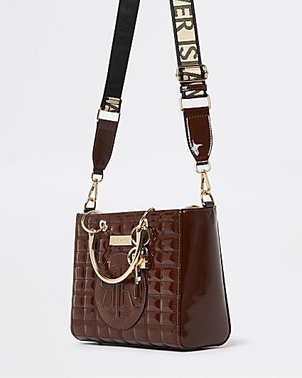 Brown RI branded tote bag