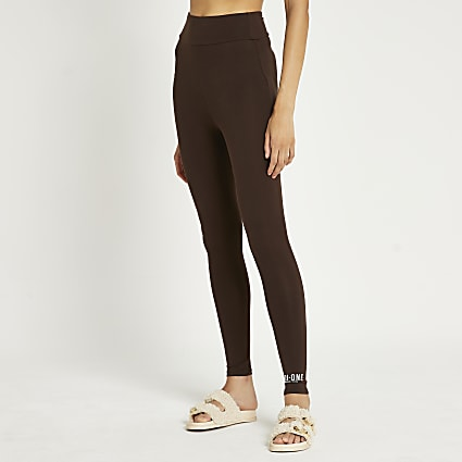 Brown RI One leggings
