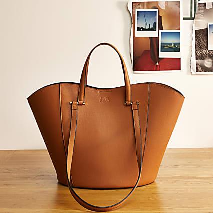 Brown RI Studio leather tote bag