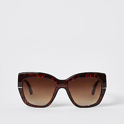 Brown tortioseshell RI glam sunglasses