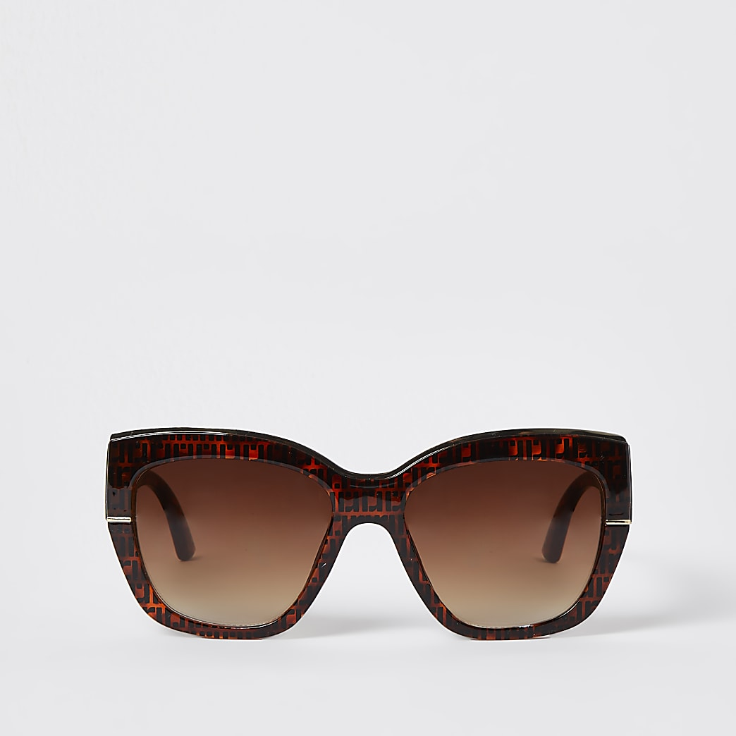 Brown tortioseshell RI glam sunglasses