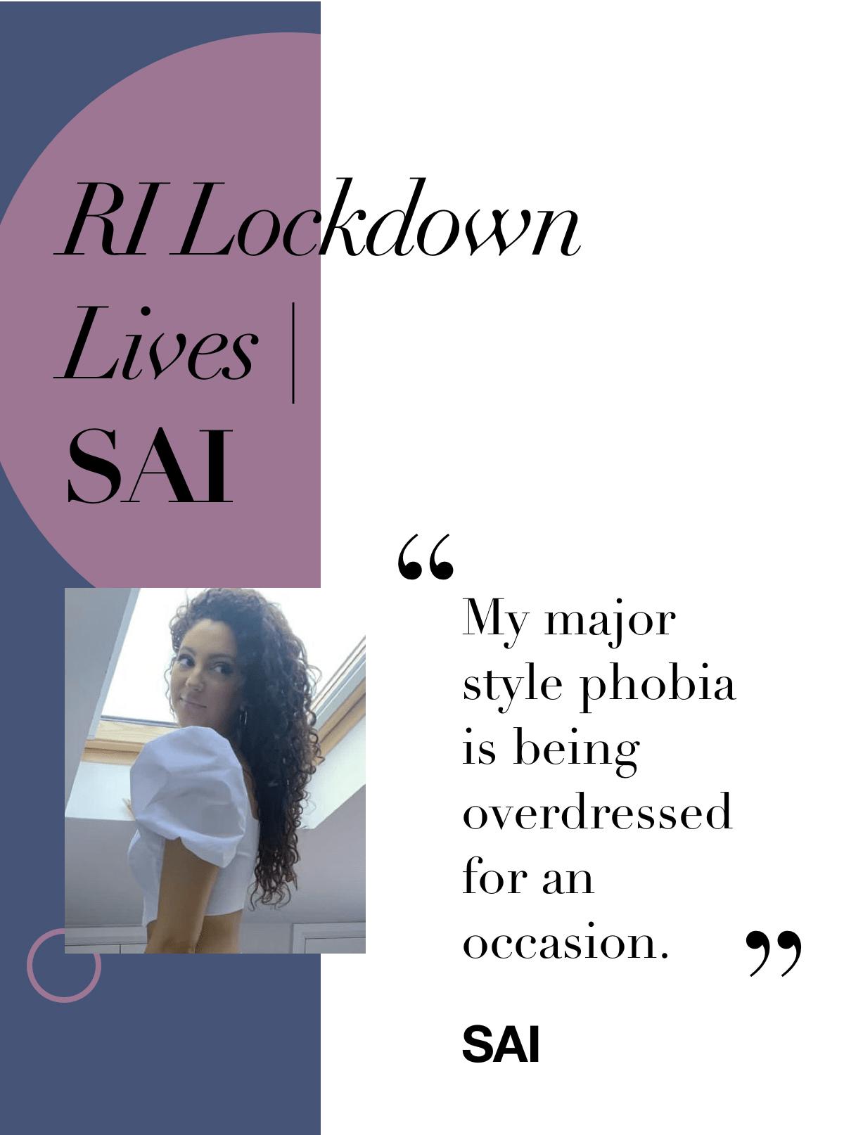 RI Lockdown Lives | SAI