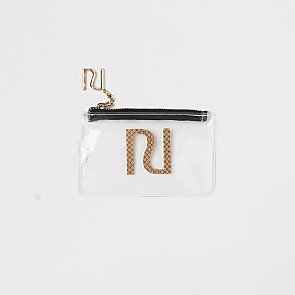 Clear perspex pouch