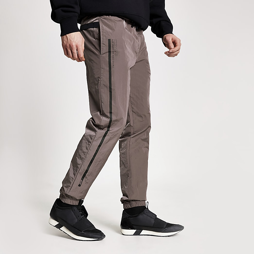 Concept purple Ryan nylon joggers