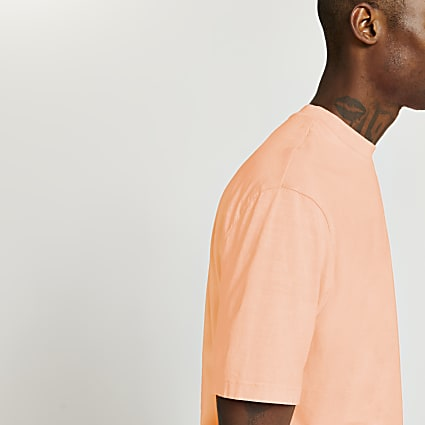 Coral oversized fit t-shirt