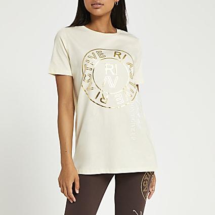 Cream RI Active t-shirt