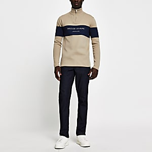 Dylan - Donkerblauwe slim-fit jeans