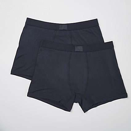 Dark grey premium essentials trunks 2 pack