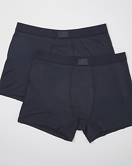 Dark grey premium essentials trunks 2 pack