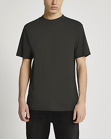Dark grey regular fit t-shirt