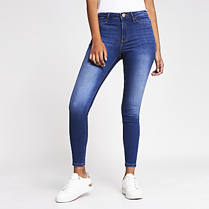 Denim - Medium Molly Mid Rise Zone