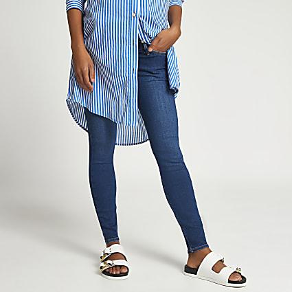 Denim Amelie mid rise maternity jeans