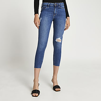 Denim Molly mid rise jeans