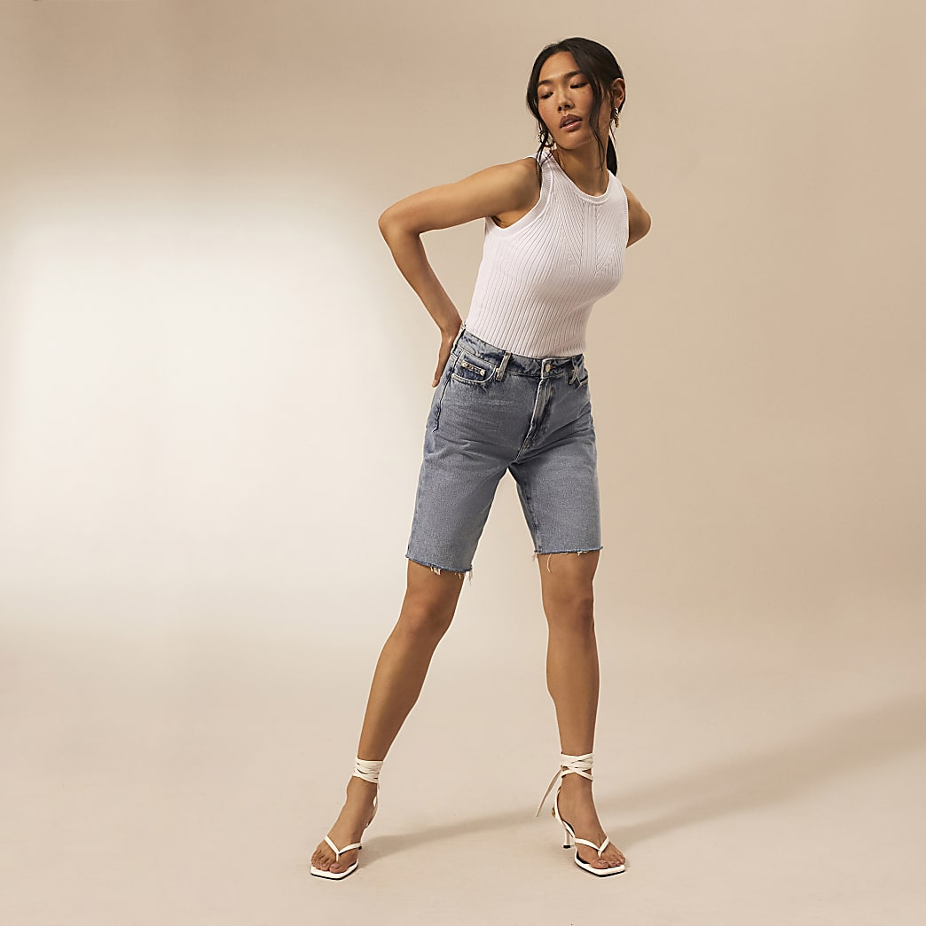 Denim RI Studio bermuda shorts